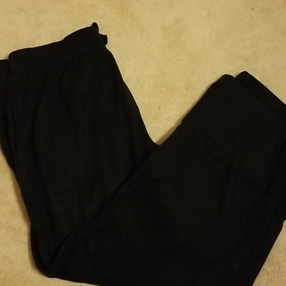 Fruit of the Loom Other - Black cotton pajama bottoms
